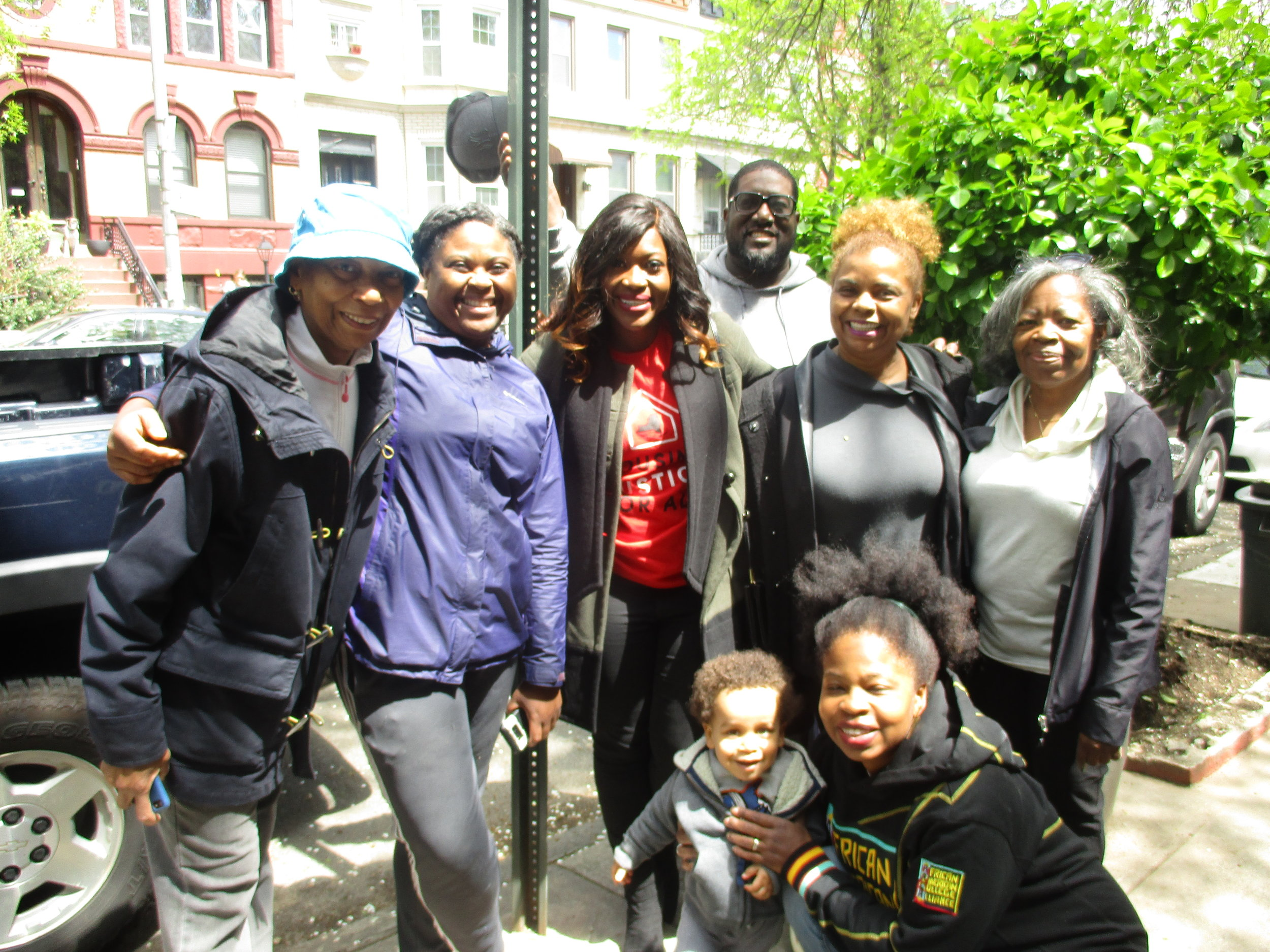 Assemblywoman Richardson and Plant members