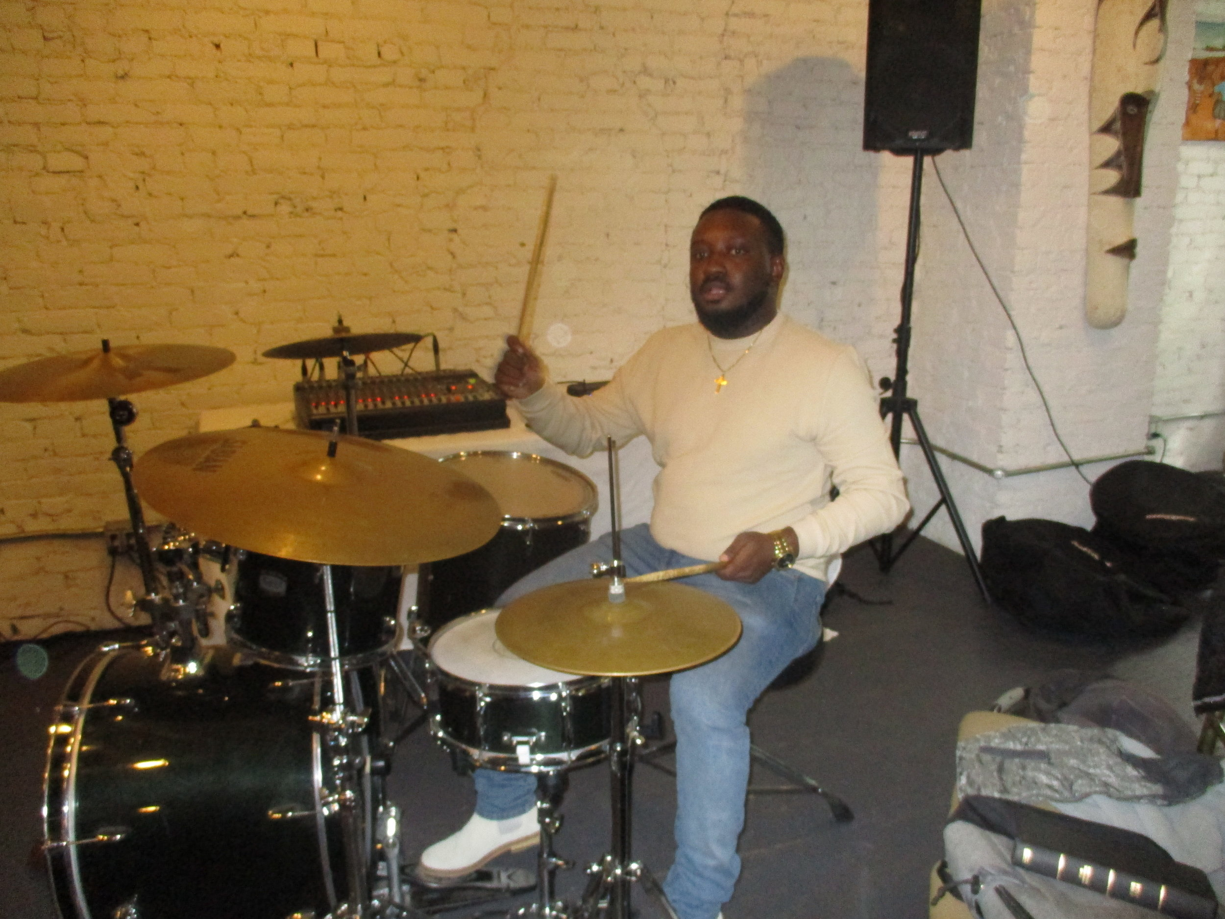 Drummer of the band