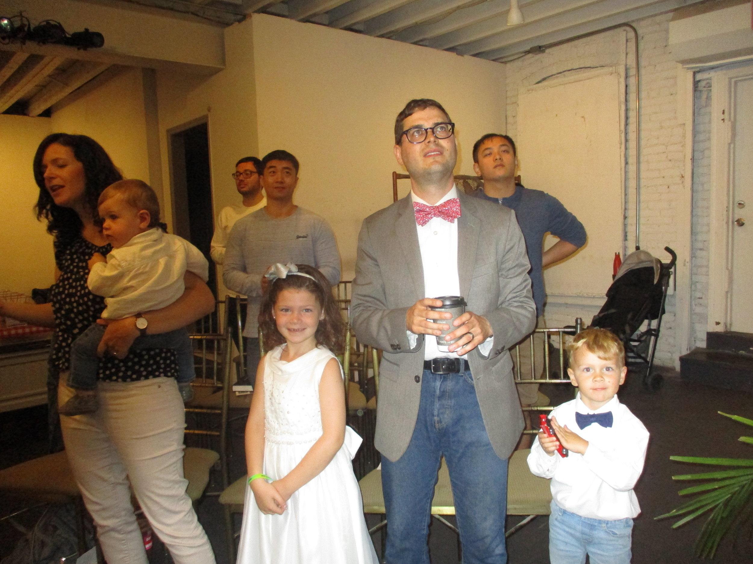 Stephen and Sonia Sollard and children