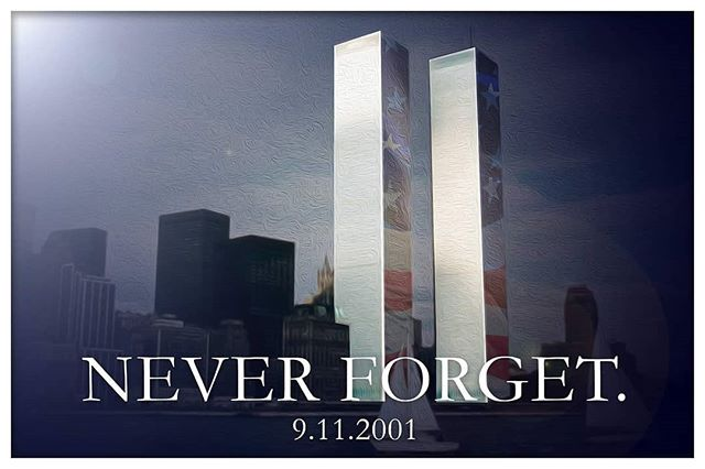 Eighteen years have passed since the horrific attack on our country forever changed all of our lives. This struck at the core of all American values and will forever be a moment remembered for the rest of our lives. Thank you to all of our military and first responders who gave their lives that day and since, to save the lives of all of us. We will NEVER FORGET.  #911 #neverforget #america