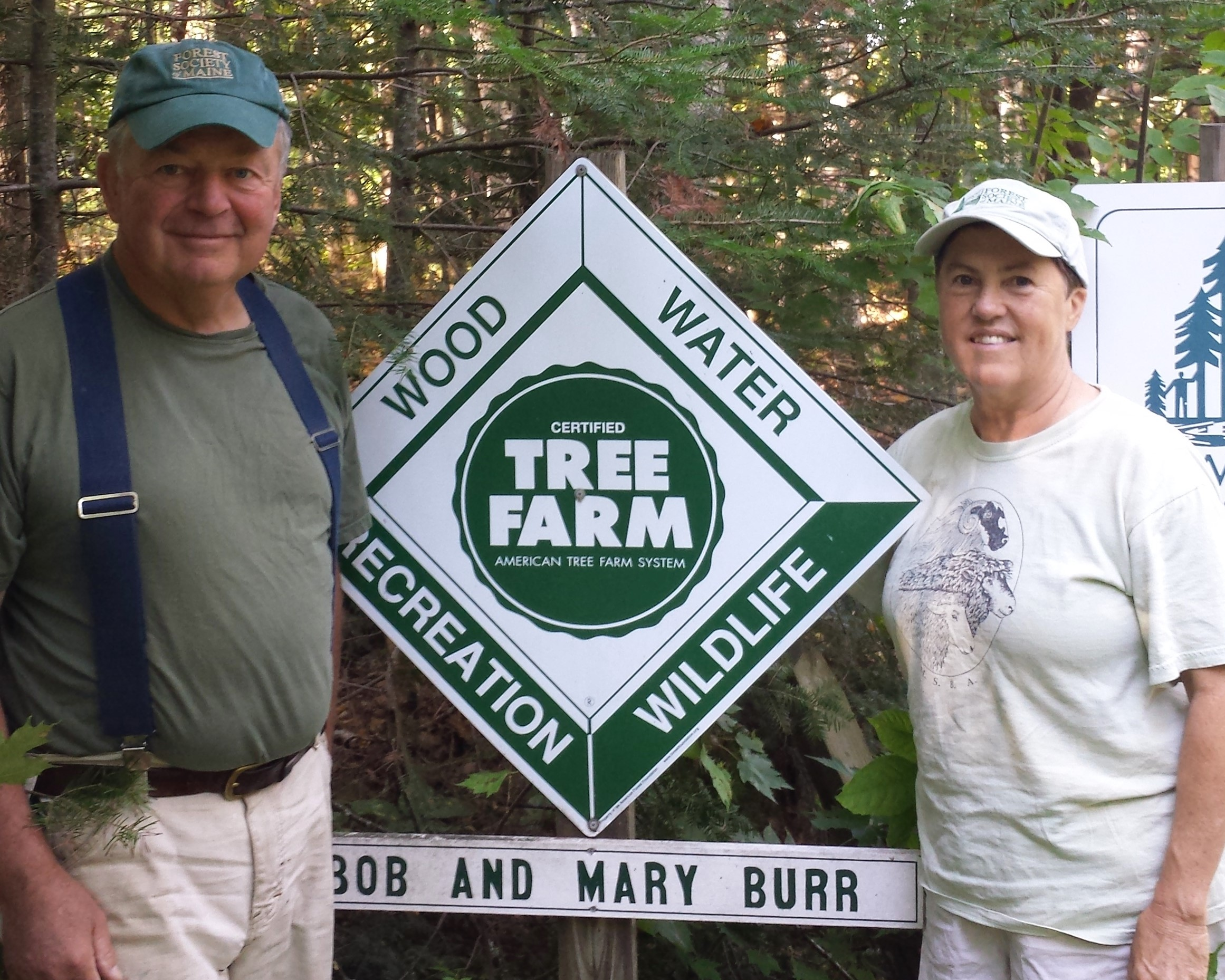 Bob and Mary Burr of Mercer are the 2019 Woodland Owners of the Year at Somerset County Soil & Water Conservation District. The award will be presented at the SWCD Annual Dinner, April 25 at Canaan Farmers Hall. Contributed photo.