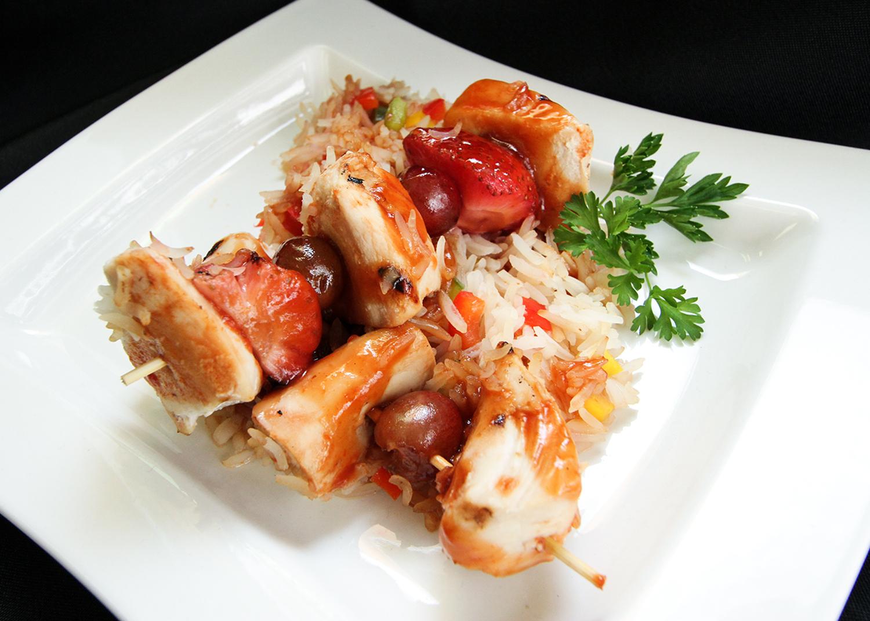 Cantonese Chicken Skewers