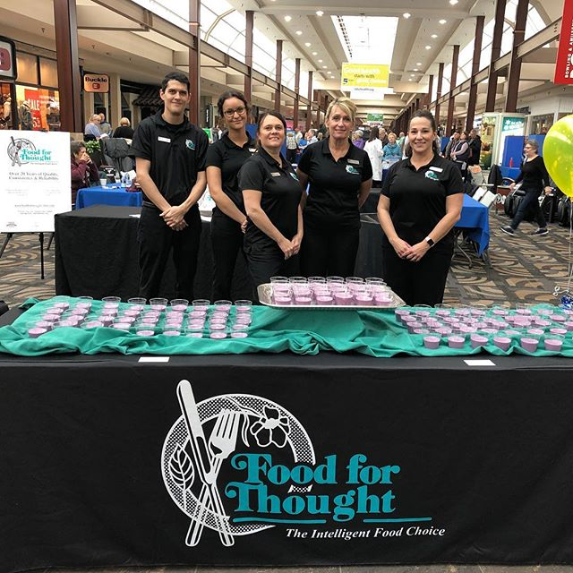 Kicking off 2019 with Lake Health Mall Walkers! #lakehealth #mentor #mentormall #foodforthought #catering