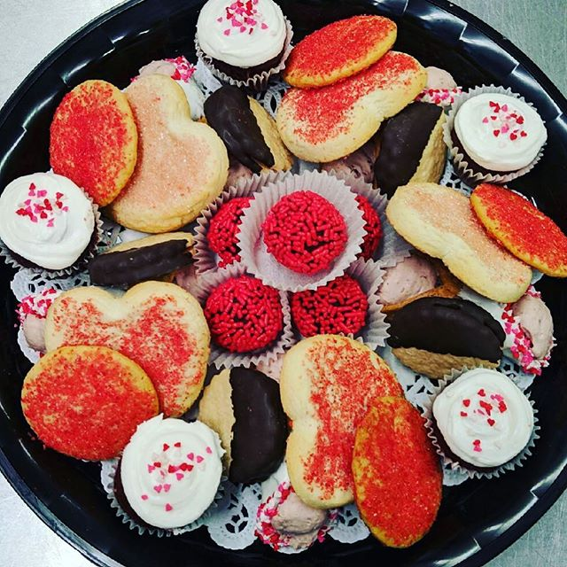 February dessert tray passed our taste test today!! Available as of February 1st! Call and order yours today 440-946-0383 #valentinesday2019 #catering #corporateevents #corporatecatering #foodforthought #mentor #delivery