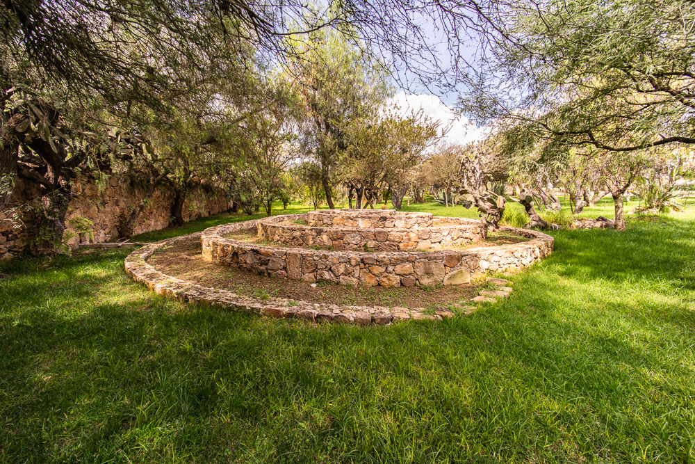 Hacienda Tovares Firepit.  In the past this was used to feed animals