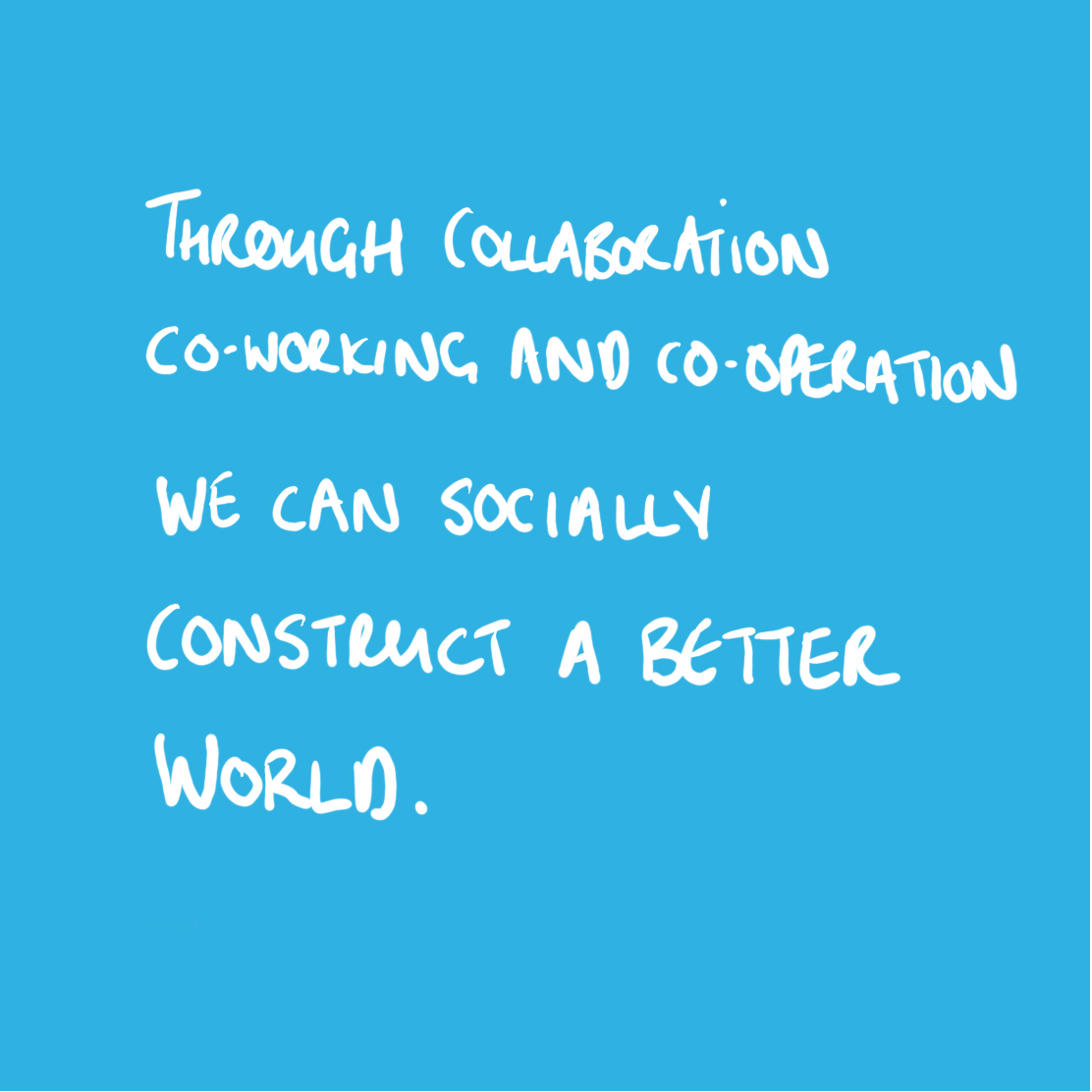 Through collaboration co-working and co-operation we can socially construct a better world. Our Mission - Attitudes and Beliefs. LabPlay Studio | A design thinking and research company - Lab Play Studio
