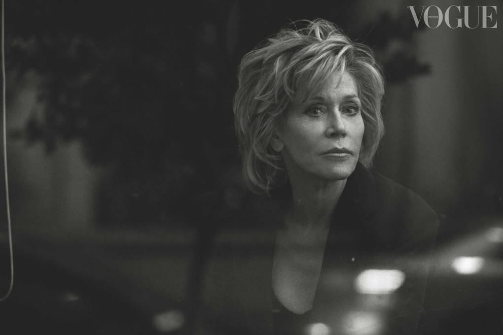 Jane Fonda, campaigner and actor