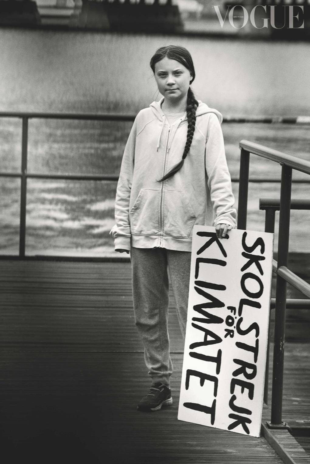 Greta Thunberg, climate change campaigner and student