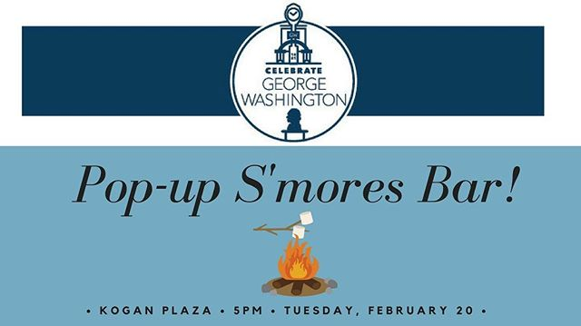 Happening today @5pm! Don't forget to swing by and grab a s'more 👀👌