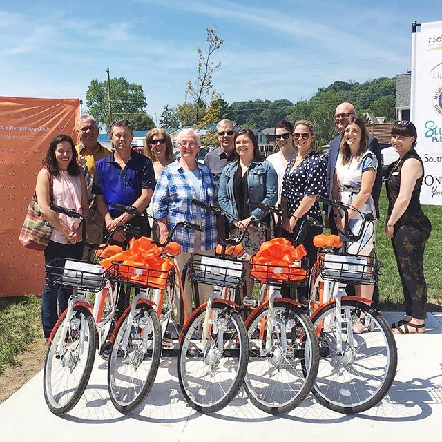 Port Stanley has some gorgeous new bikes to match their gorgeous views 😍  Reposted from @virginradiolondonca -  Who's ready to go for a bike ride?! 🚲 Today is the launch of the new Ride Elgin: Port Stanley program! This means that now you can go to one of four bike rack locations and rent a bike for 1$ an hour! 😱✨ #portstanley #dropbike #bikeshare #ldnont - #dropmobility #dropbike #cycling #portstanley #elgin #tourism #exploreON #discoverON