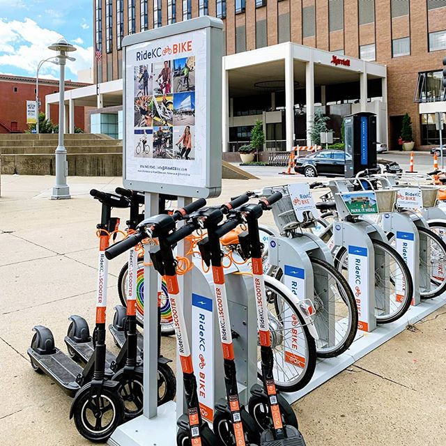 We're excited to announce that our scooters have officially arrived in Kansas City!! Use the code 'SCOOTKC' for a free ride credit 🛴