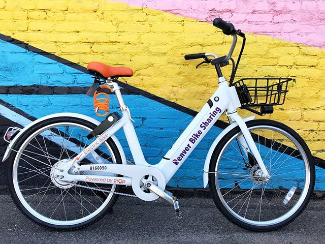 Pleased to announce our partnership with @denverbcycle. Over the next month we'll be providing e-bikes at select stations. ⚡  Check out the link below for details:  https://www.denverbcycle.com/ebike