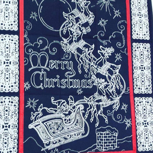 #embroideryart #christmasinjuly #wallhanging