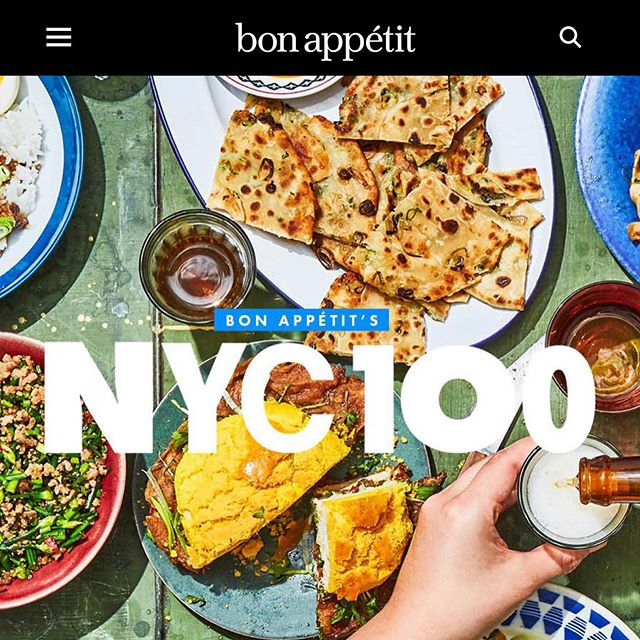 Thank you @bonappetitmag for naming @addanyc as one of the Top 💯Restaurants in NYC. We are thrilled to be included in this list with our friends @superiorityburger @frenchettenyc @kopitiamnyc @atoboynyc @casaenrique @winsonbrooklyn and all the glorious places in New York City. #top100 #bonappetit #condenast #indian #indianfood #spice #bestcity #foodcapital #unapologetic #authentic ••• #Repost @bonappetitmag with @get_repost ・・・ There's no single best restaurant in New York. There's only the best restaurant for your situation. That's why we created the #NYC100, our heavily vetted recommendations for where to eat and drink in every scenario you find yourself in. Want to know the place for mole poblano tamales and immediate hangover relief? That'd be @factory_tamal. The place when you're near Madison Square Garden and about to just give up? @upsidepizza, obviously. And the place for a third date with that person you really like? @altroparadiso never lets us down. These 100 spots are guaranteed to satisfy all of your VERY specific needs. See the full #NYC100 through the link in our profile.