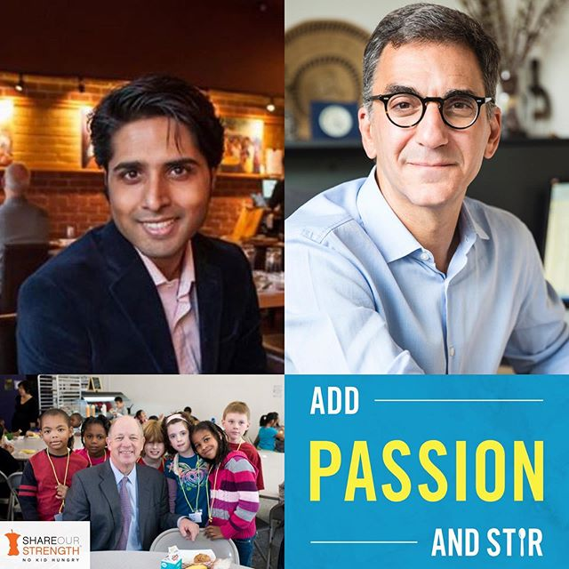 """It's disheartening that we are so easily forgetting that we are a country of immigrants,"" ••• says our CEO @roni.mazumdar as he sits down with @accion_global President and CEO @michaelschlein with host @nokidhungry 's @billshore on the new ADD PASSION AND STIR #podcast. Link in bio (apple.co/2kw6J9p) ••• #impact #community #inclusion #belonging #startup #restaurant #business #food #indian #humility #immigrant #nytcooking"