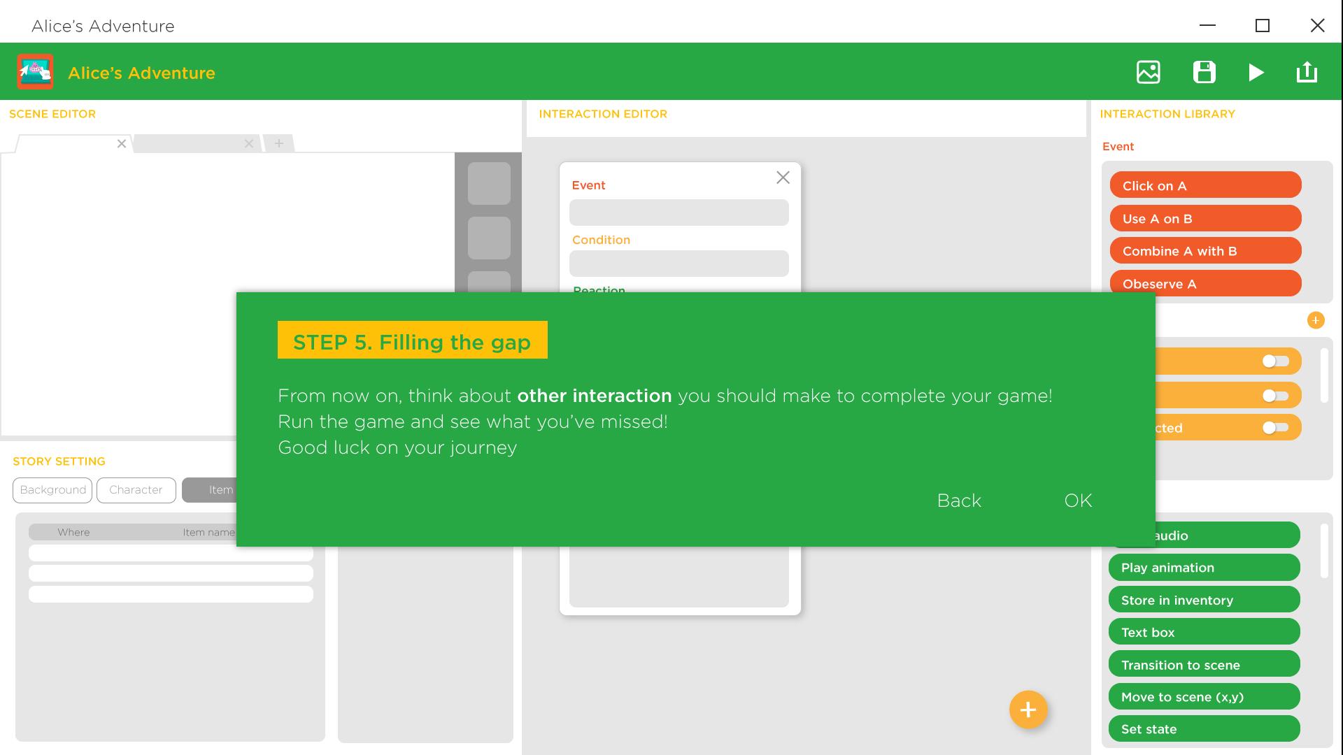 Copy of Step 5 / Main Screen