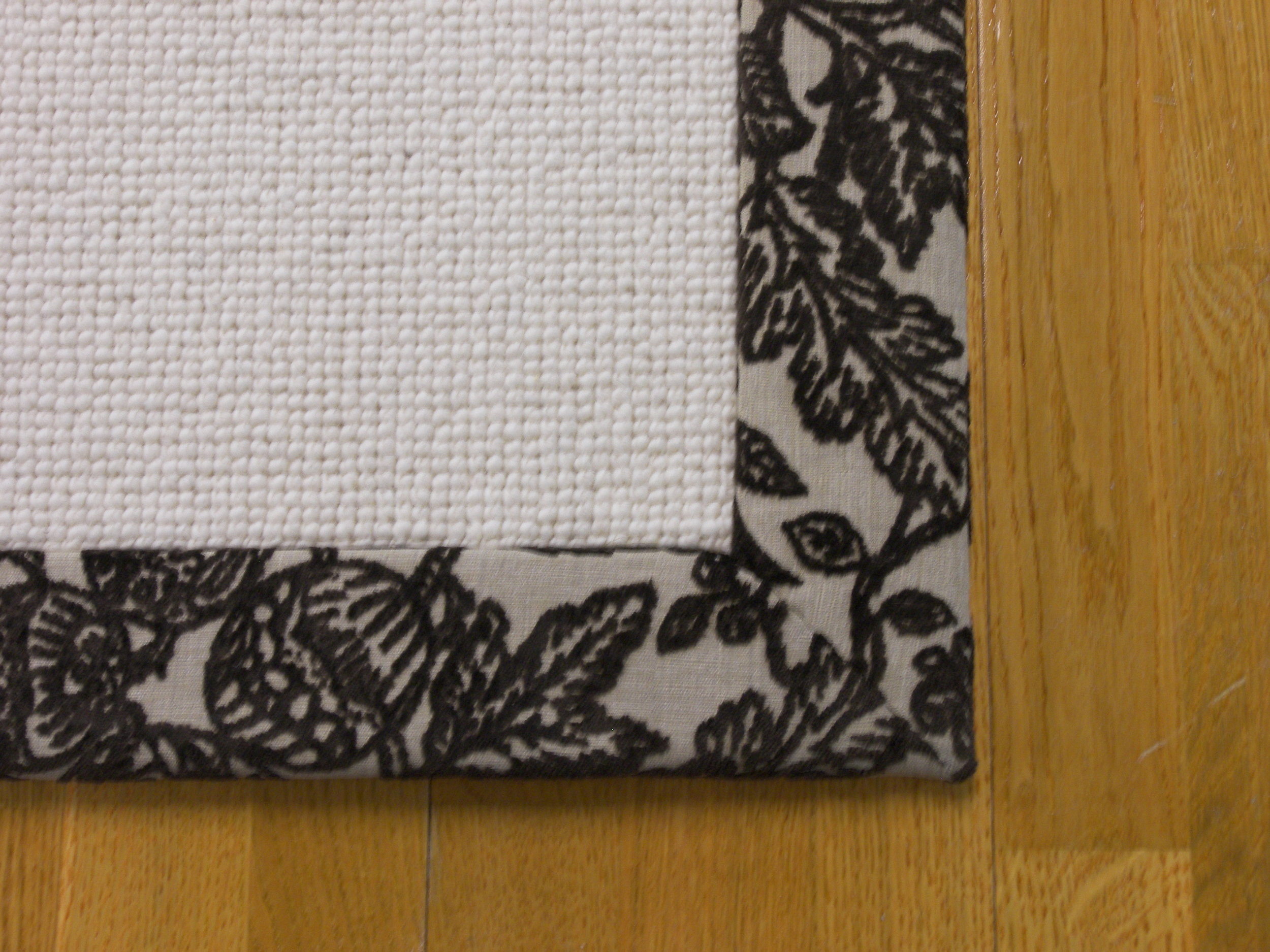 Tapestry Carpet Edge Finishing