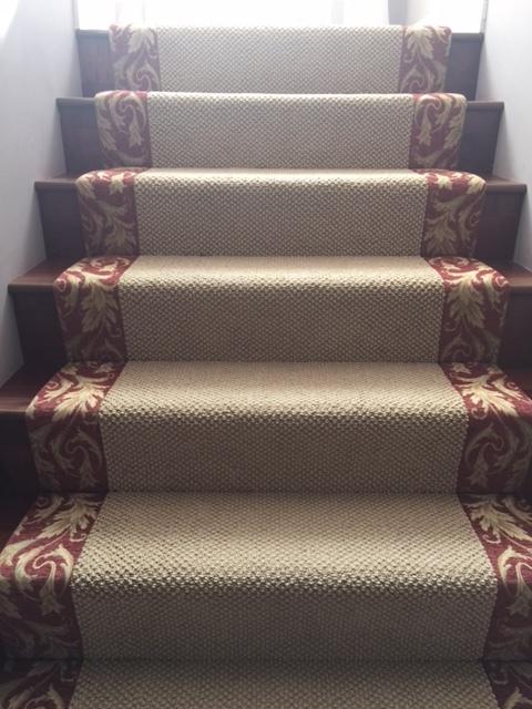 Tapestry stairs 1.JPG