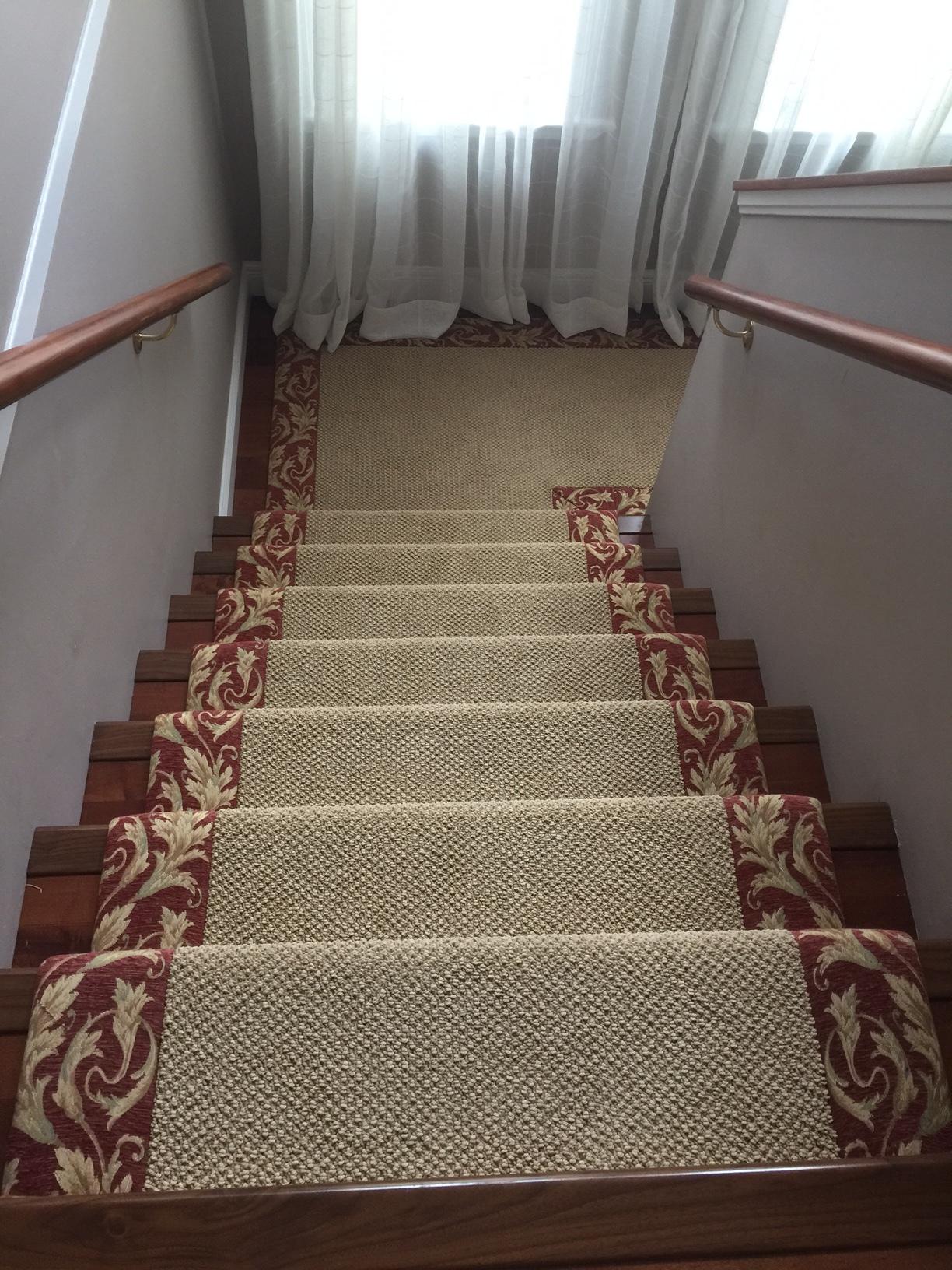 Tapestry stairs 2.JPG
