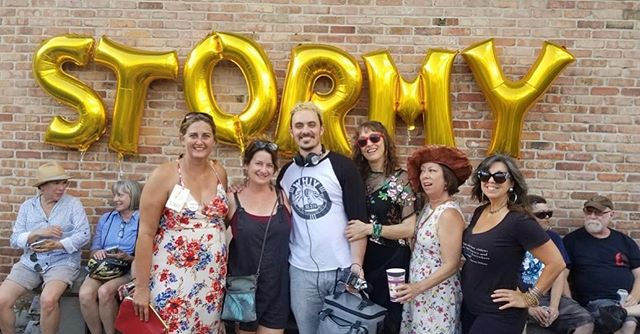 It's not that much of a throwback for #tbt but we just wanted to say we had a blast supporting the @neworleansabortionfund at the Swamp Trash Block Party hosted by @thestormydaniels