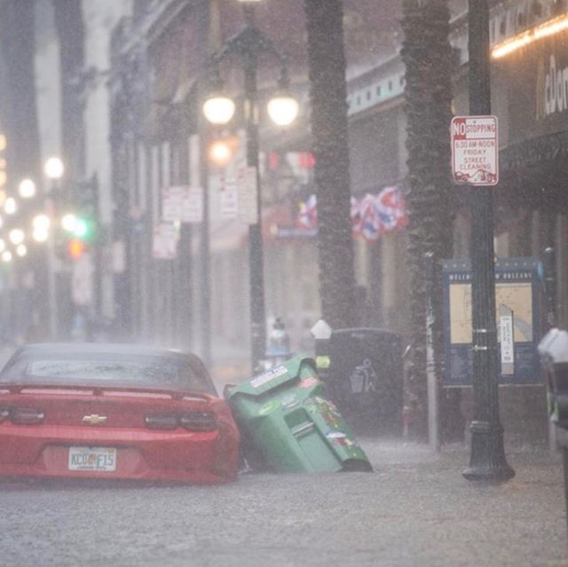 Be safe out there New Orleans.