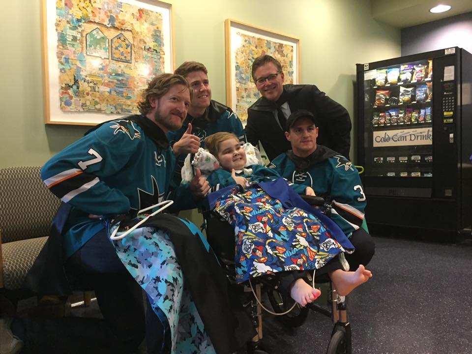 Capes4Heroes Visit - 2017 Children of Kaiser Permanente Santa Clara Visit