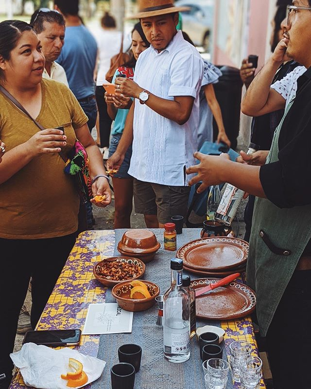 An event to celebrate with coffee and mezcal and with a team that pulled it off flawlessly. Thank you to everyone who came out and enjoyed a thoughtful and curated experience. Hasta la próxima. 📷 @dumbcoffeeboy