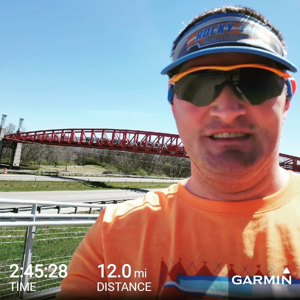 David King knocked out the last long run for the Knoxville Covenant Marathon