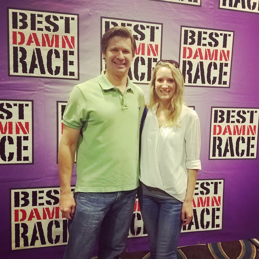 Jeff and Stacy traveled to New Orleans for her FIRST Half Marathon!!