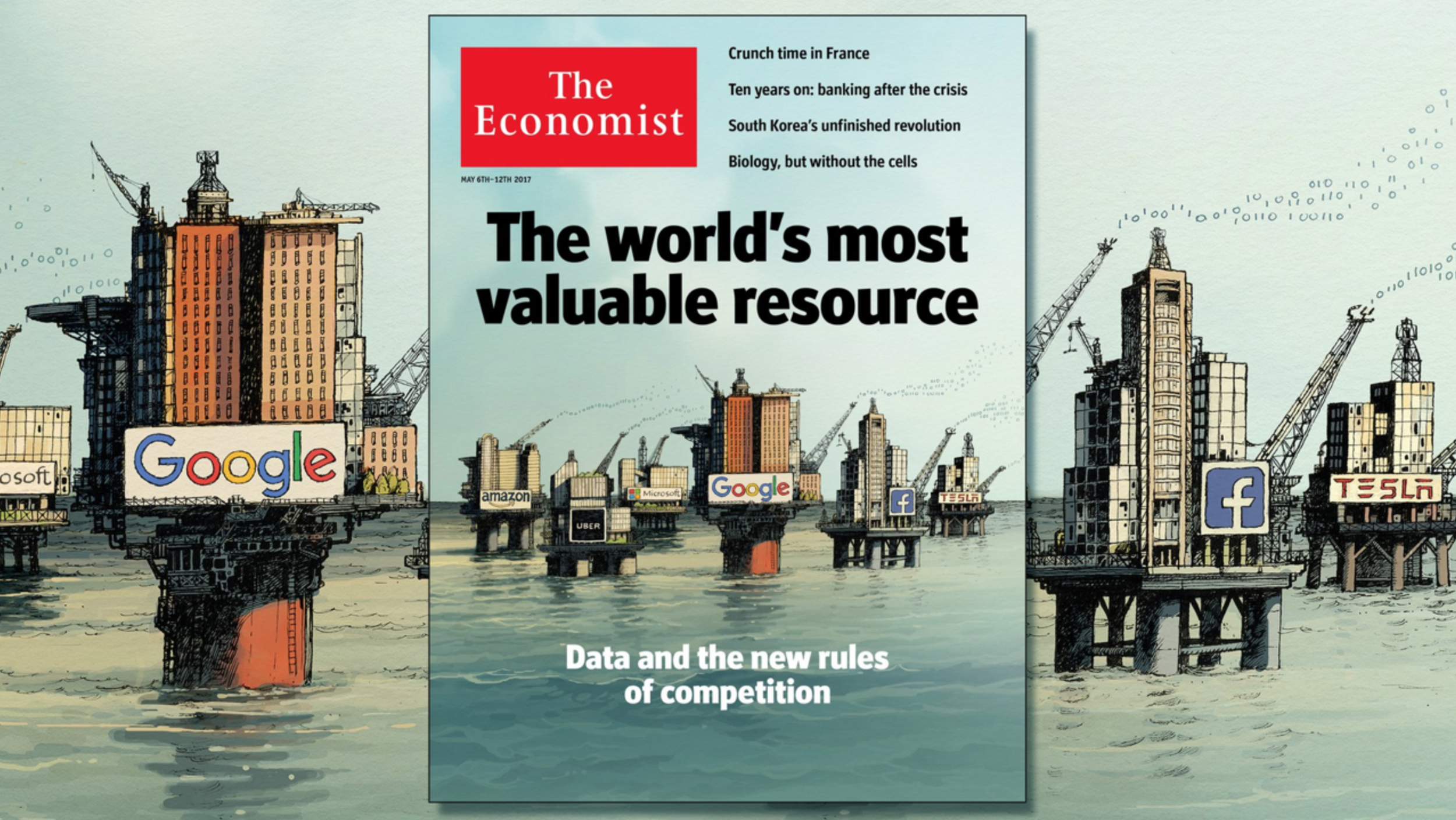 The Economist: Data is the New Oil