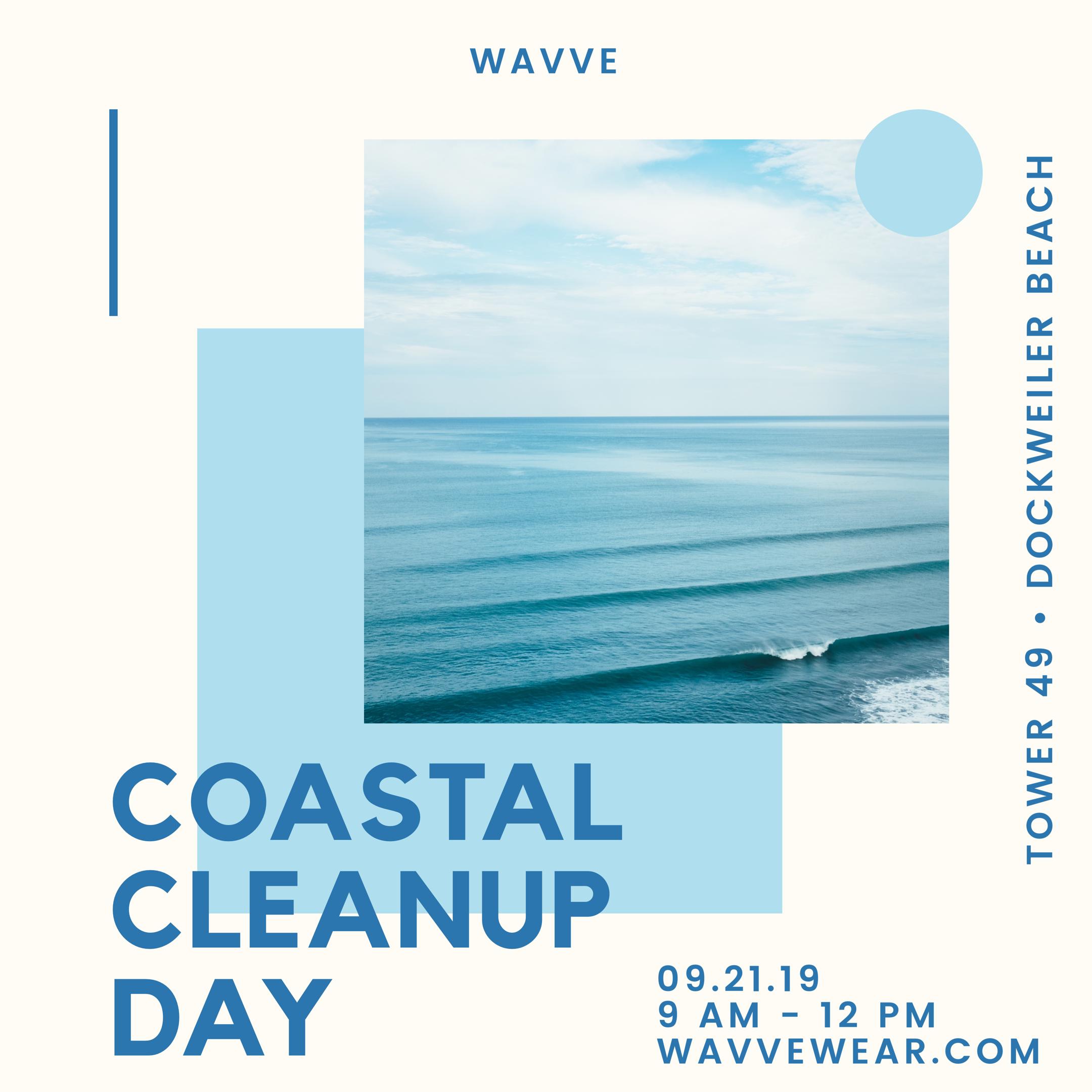 WAVVE Coastal Cleanup