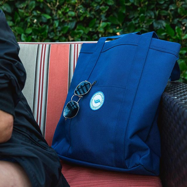 Always by your side. #ThePacificTote is handcrafted and made from 100% recycled plastic bottles. Perfect for daily use. See link in bio for more.