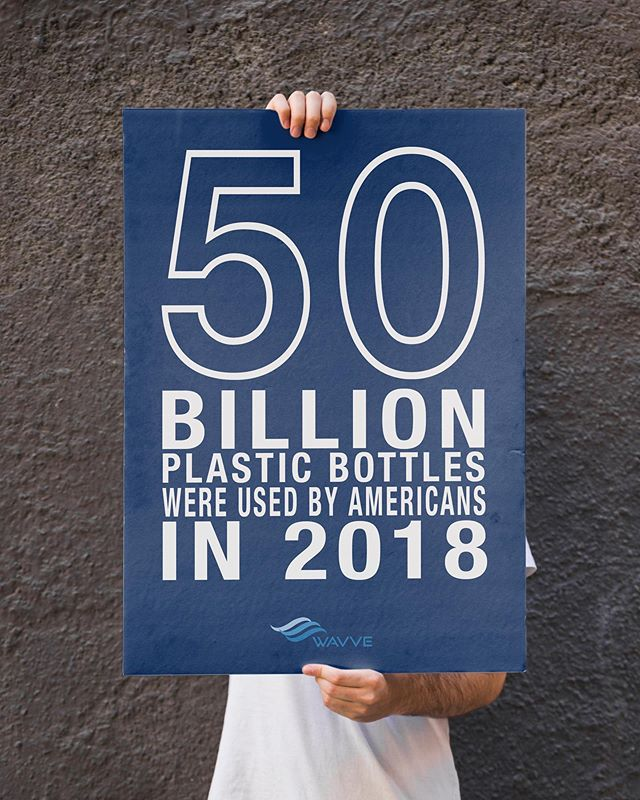 50 BILLION! That's 2,000,000 school buses filled with plastic bottles. . . . . . . . . . . #psa #plasticpollution #sustainablefashion #sustainability #plasticbottles #climatestrike #climatereality