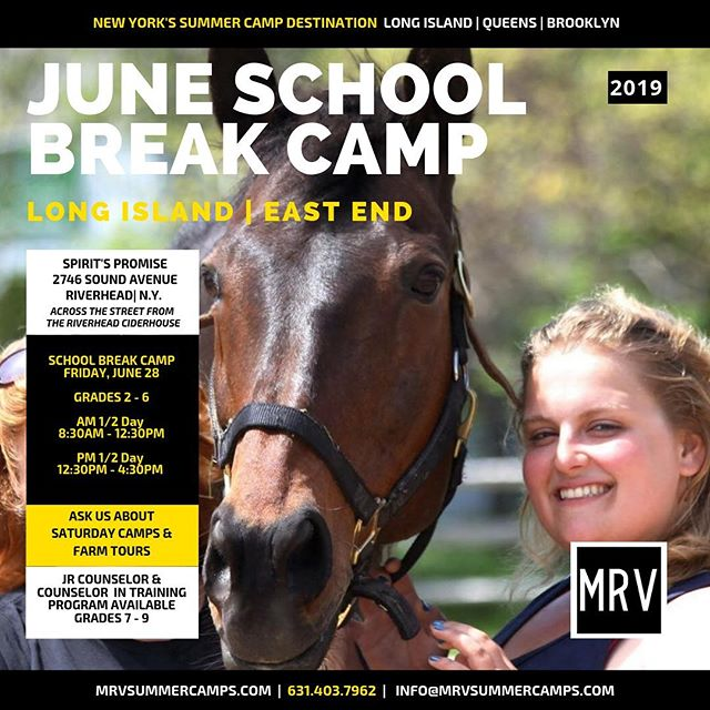 NEW DATE: Friday, June 28th 8:30am - 4:30pm! June School Break Is Coming...