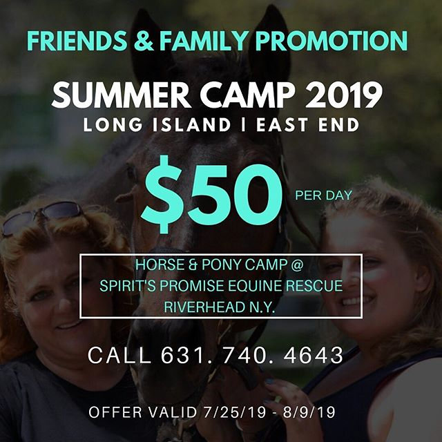 $50 Per Day | Family & Friends Promotion