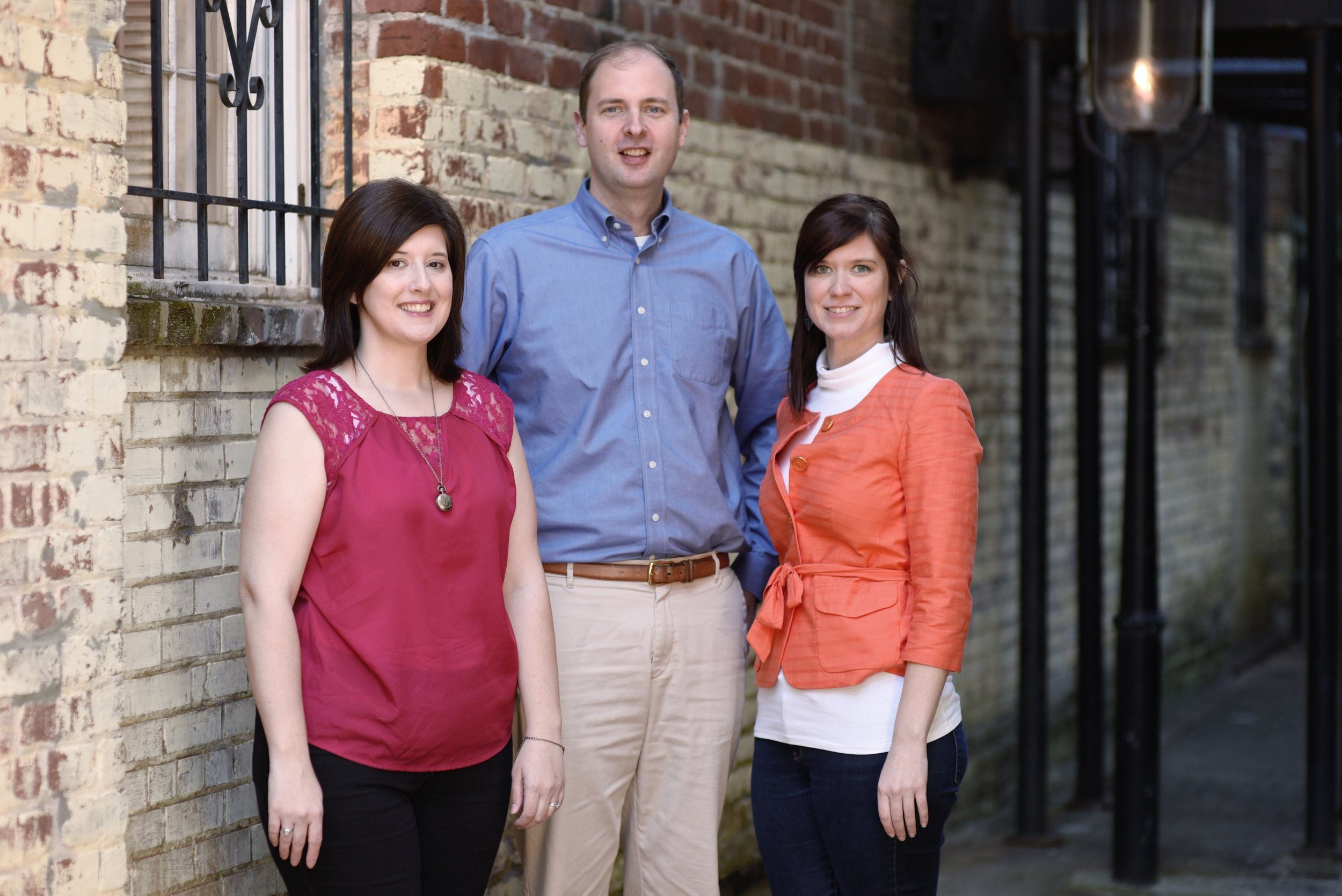 MHA Southeast team (L to R) | Caroline Wilson (Associate), Richard Sidebottom (Director), Katherine Ferguson (MHA Marketing Manager)