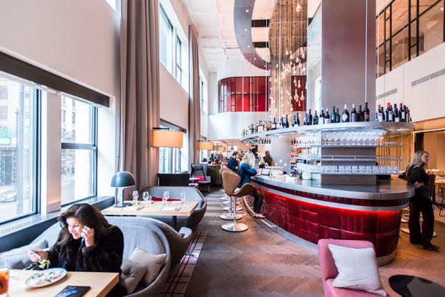 The Old Dearborn Bank Building / Virgin Hotel - Commission of Chicago Landmarks|2015 Chicago Landmark Award for Preservation Excellence