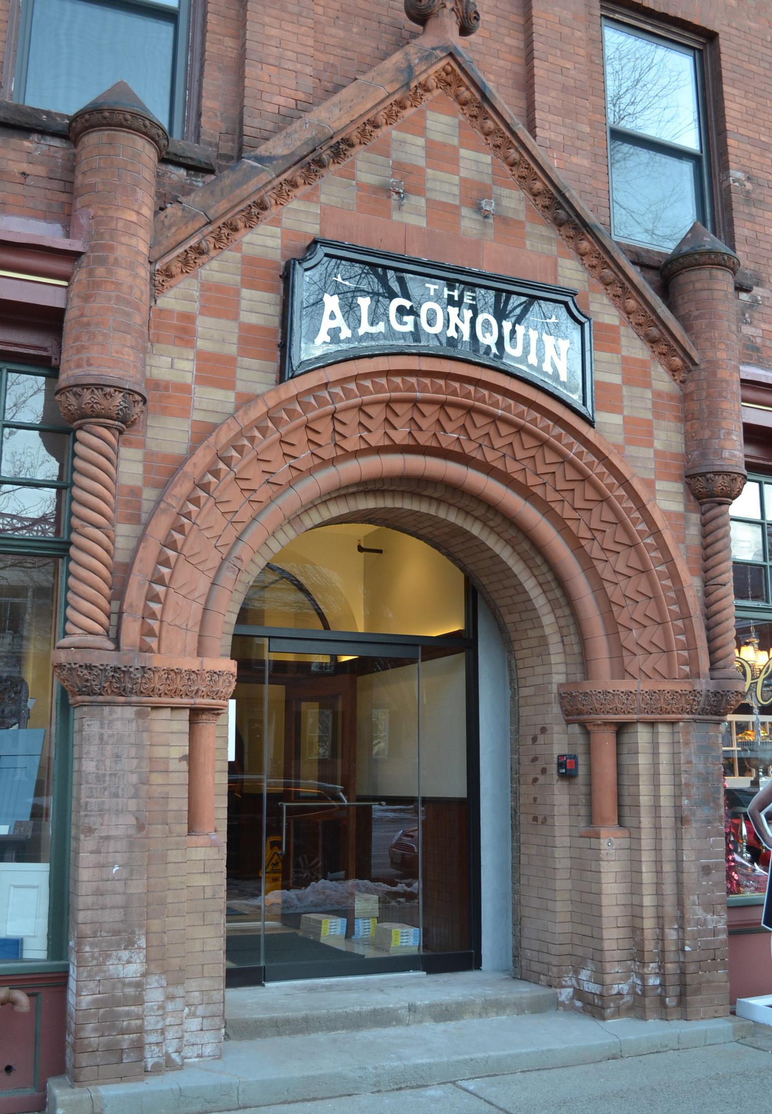 The Algonquin - Saratoga springs, NYHousingClient: The Algonquin Building LLCBuilt: 1892Project Costs: $9 millionHTC equity: $3 million