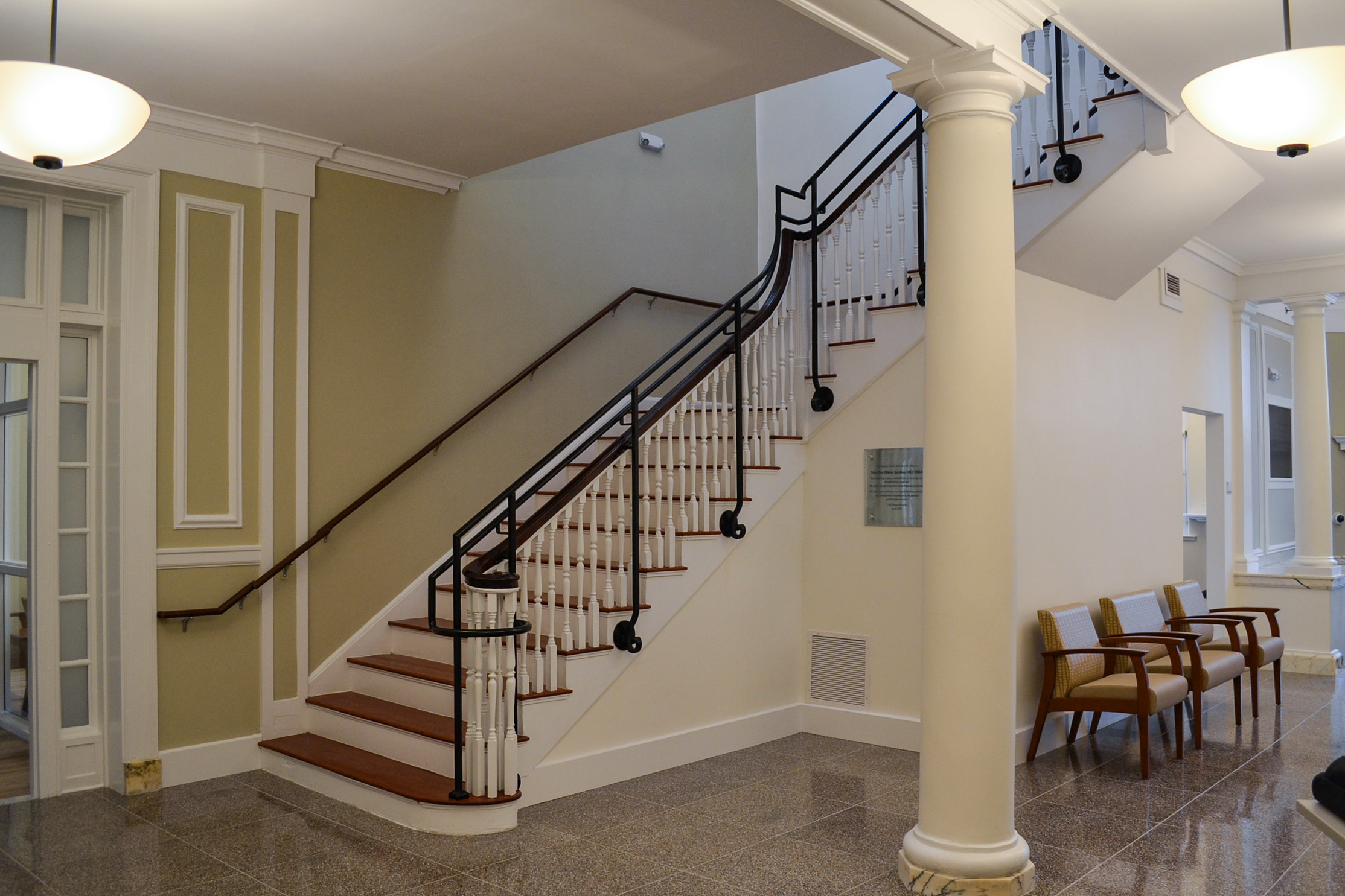Sewall Building Main Staircase