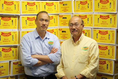 President and CEO Andrew Yap with Founder and Advisor George Yap
