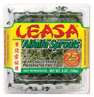 Ingredients  Living Alfalfa Sprouts