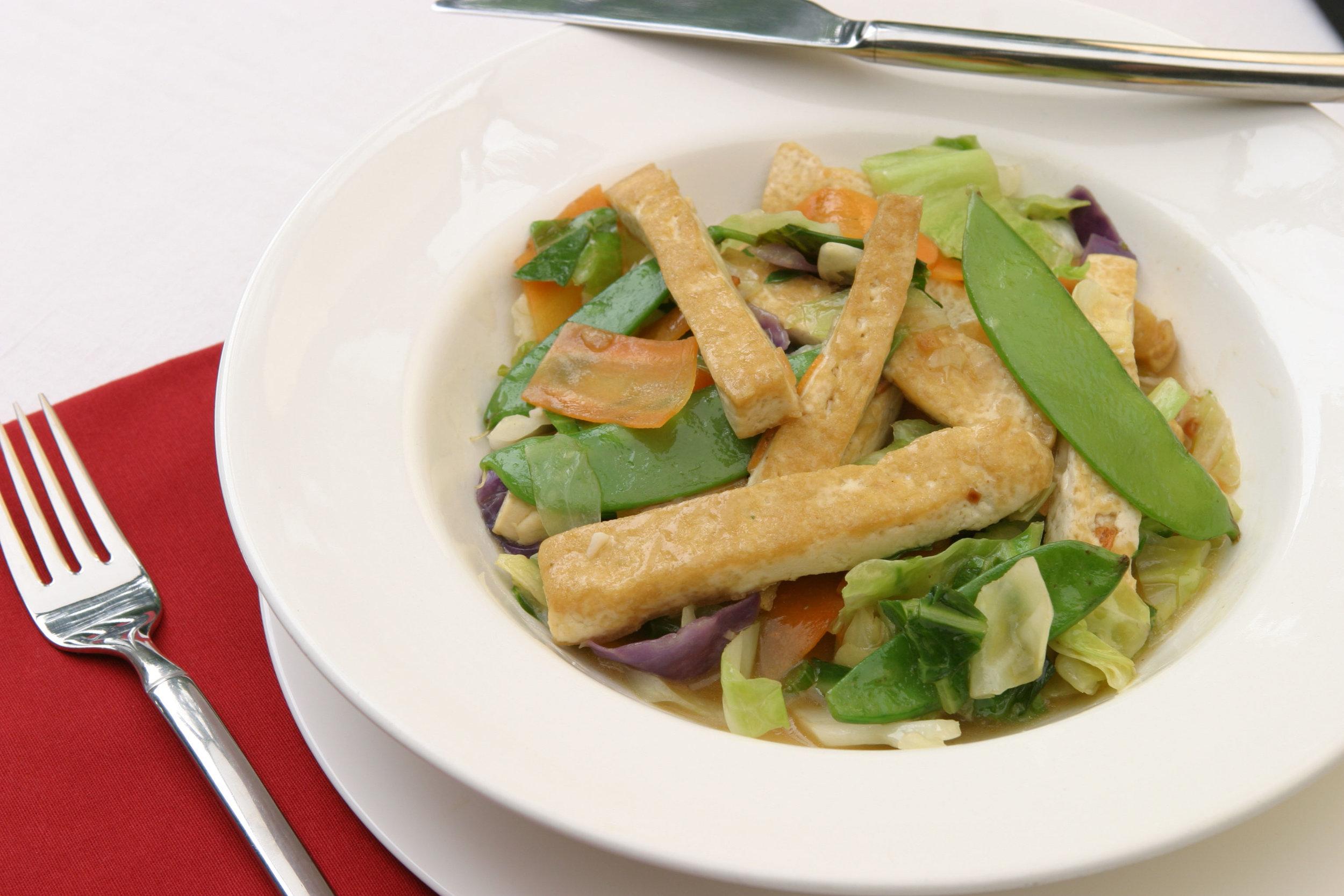 Tofu Stir Fry -