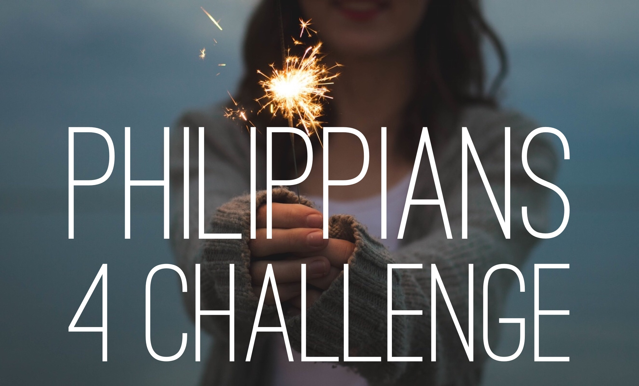 Take the Challenge! - The Philippians 4 Challenge is as simple as it is audacious. In the first century, the Apostle Paul commanded the early church to live out four habits to attain three incredible promises: the peace of God that will guard you, the presence of God that will surround you, and the contentment of God that will free you. The Philippians 4 Challenge is simply taking God at His Word, living out what Philippians 4 commands us to do, and seeing if God's promises are really true. Fill out the survey below to get a baseline on where you are now, read the devotionals for 21 days and follow through with the action steps, then see how much progress you've made after 21 days. Answer each question below on a scale of 1 (doesn't apply to you) to 7 (perfectly describes you). Get ready for a life-changing journey!