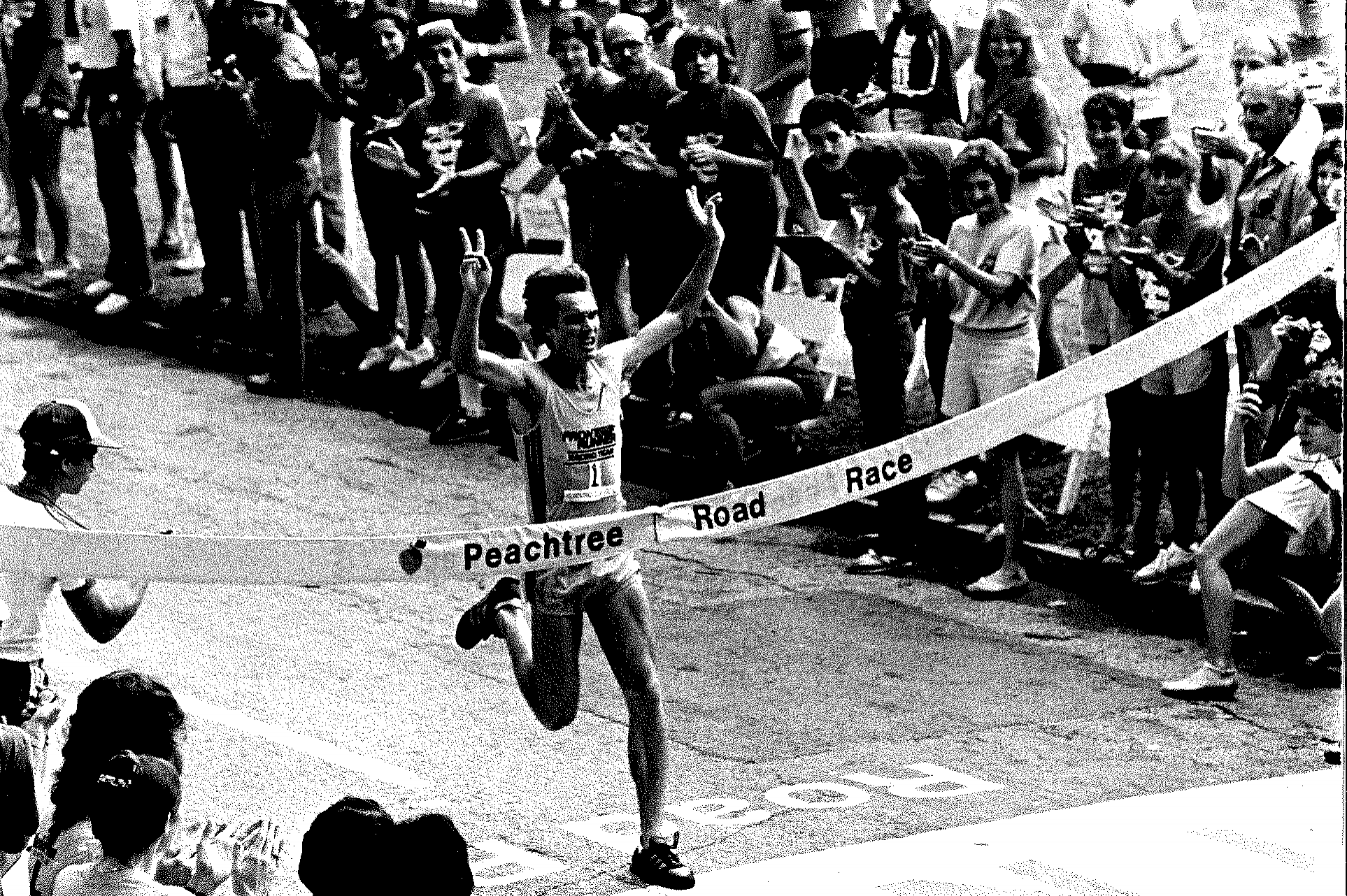 Craig Virgin winning in 1981