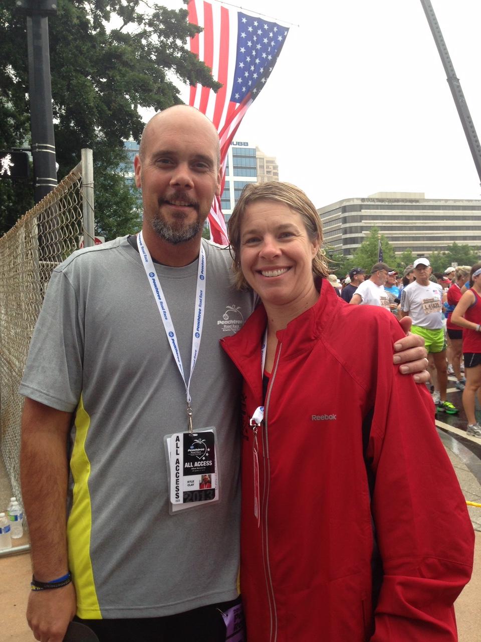 Kyle and Jill Clay