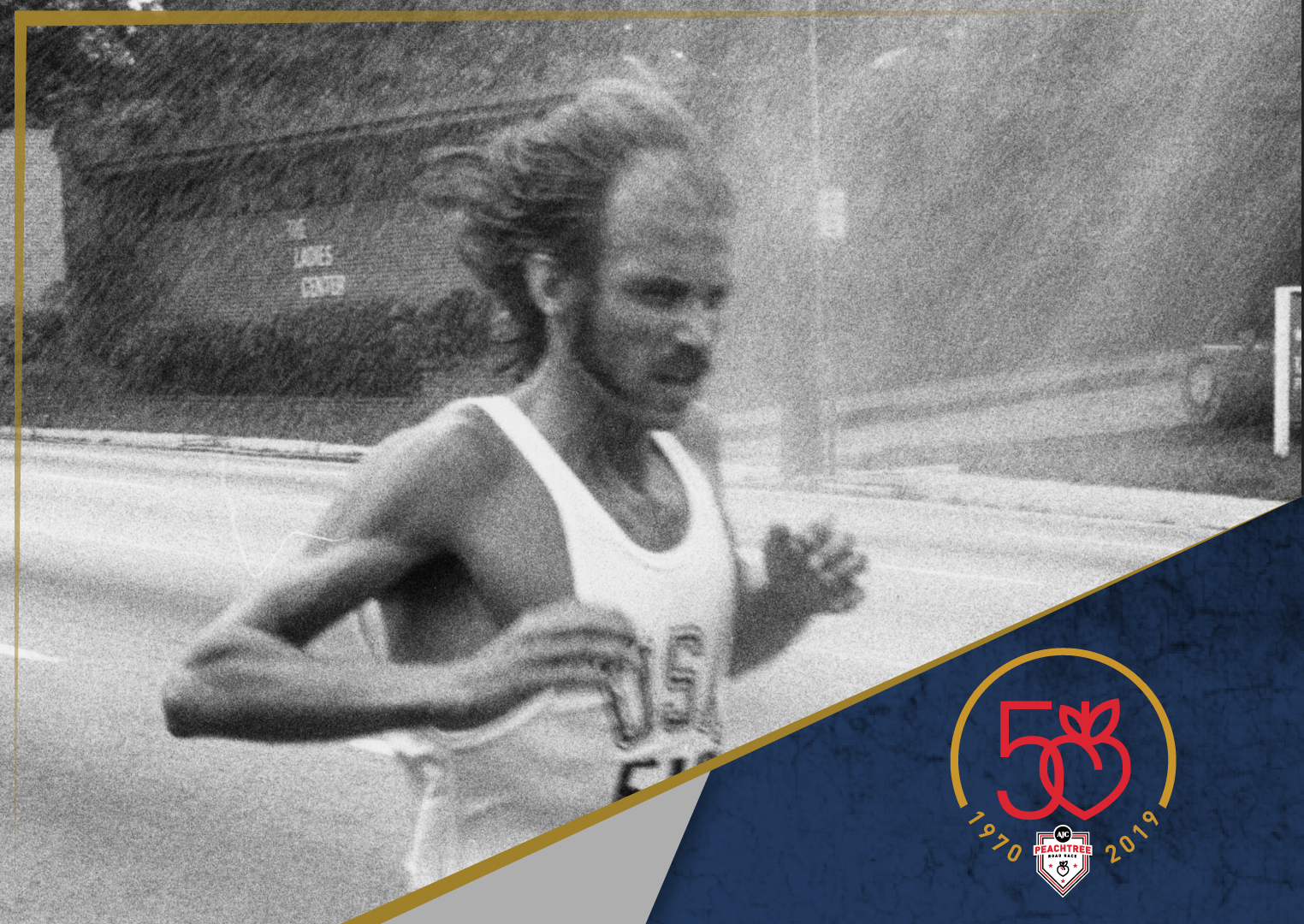 Galloway's Methods at the Peachtree - By Amby BurfootThe first man across the line at the 1970 edition of the Peachtree was a man now well-known across the world: Jeff Galloway.
