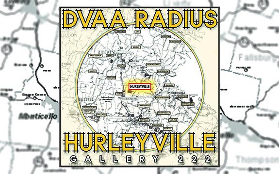 DVAA Radius   Hurleyville Pop-Up Exhibit   December 2-10, 2017