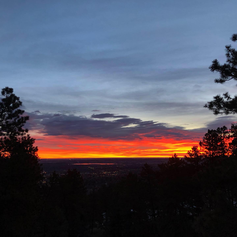 Sunrise from Flagstaff