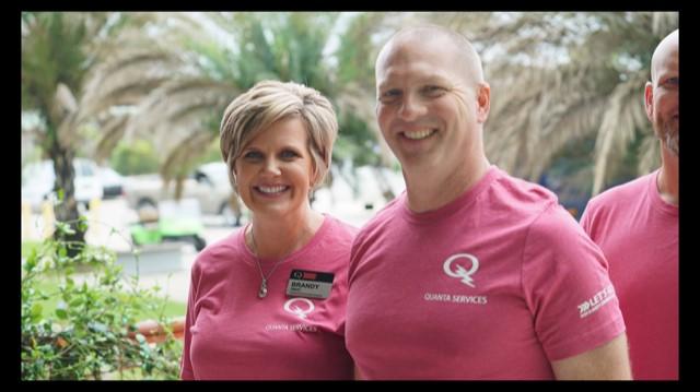 Quanta Environmental President Brandy Smart and Vice President Dennis McAfee
