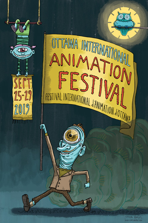 OIAF19 Poster by Steve Angel